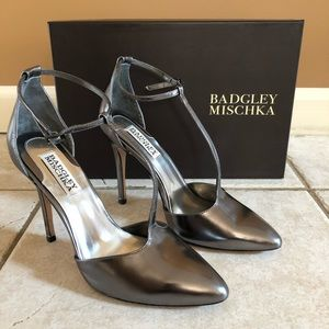 Badgley Mischka Pila II Stiletto Heel Dress Pumps